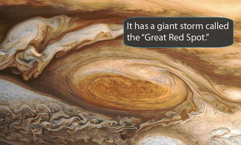Great Red Spot.