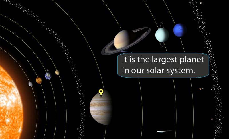Solar System Scramble Text Version