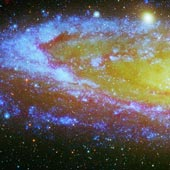 Part of Andromeda Galaxy.