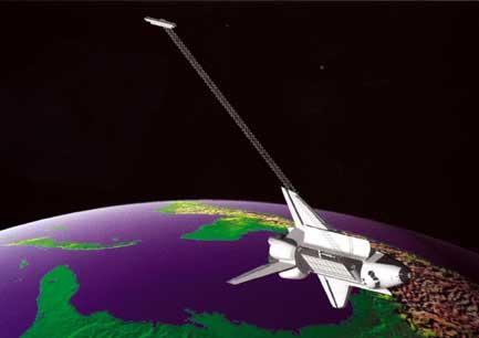 Misión de Radar Topográfico del Transbordador Espacial