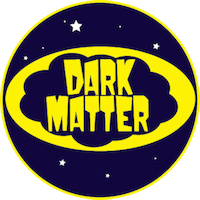 image of a ficticious logo for dark matter