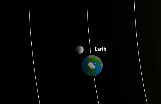 close-up illusrtration of of Earth