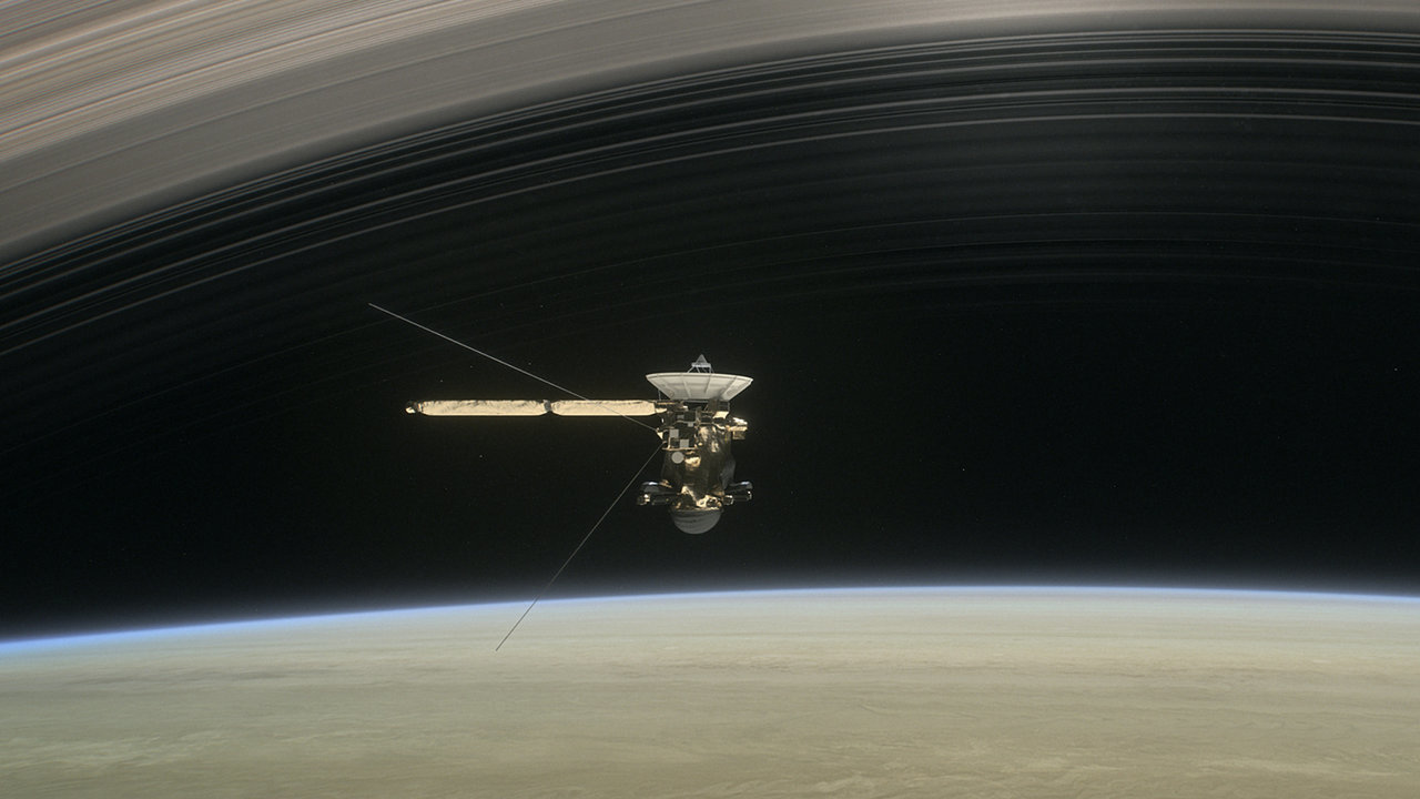 Illustration of the Cassini spacecraft