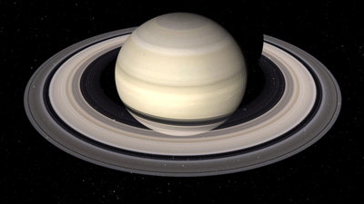 Image of Satrun made by the Cassini spacecraft.