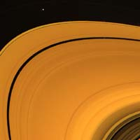 Rings showing Cassini Division