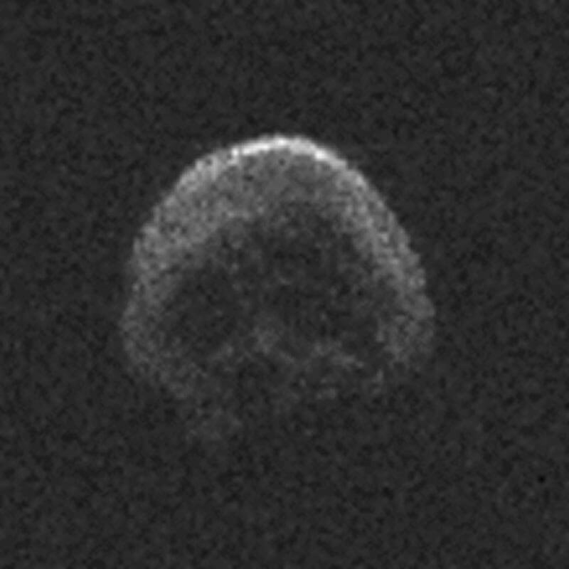 A creepy, skull shaped asteroid called 2015 TB145.