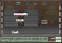 Screenshot of sign Here game.
