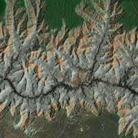 Landsat image of Grand Canyon.