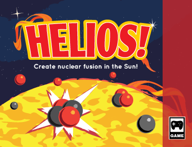 Game box art for the game Helios.