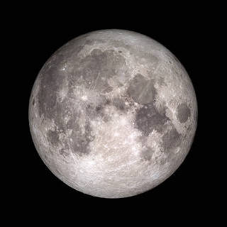 an image of the moon